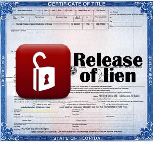 Release of lien removal service altavistaventures Gallery