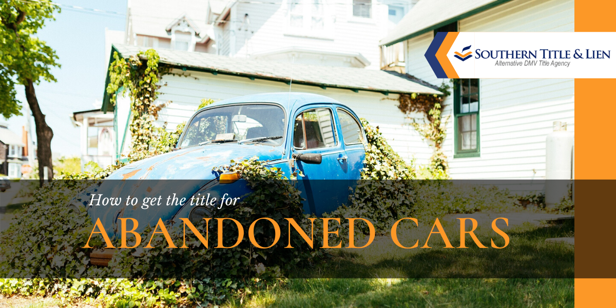 Get The Title To Abandoned Car On Your Property